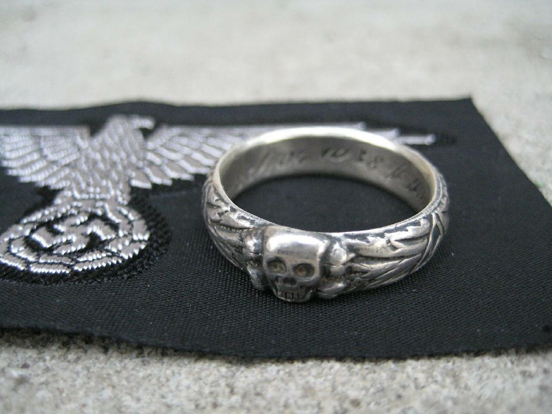Himmler Ss Totenkopf Death Head Ring For Sale Rare Ss Totenkopf  Apps